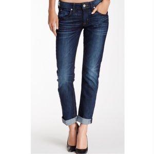 {HUDSON} Bacara Crop Cuffed Flap Pocket Jeans
